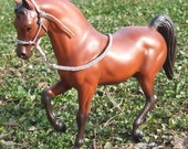 Choose Color- 1:9 Traditional Scale Rope Breyer Horse Halter & Removable Braided Lead