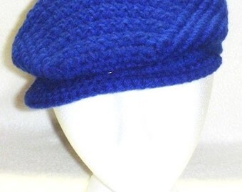 The Crocheted Driver's Cap