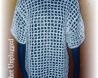 Crochet Mesh T-Shirt - Made-To-Order (S, M, L)