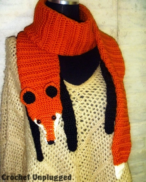Free Crochet Pattern Fox Scarf : Crochet Fox Scarf www.imgarcade.com - Online Image Arcade!