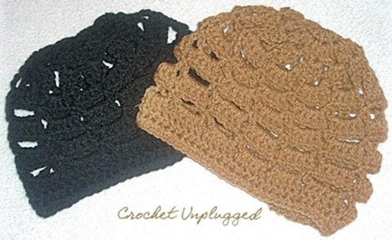 Crochet Honeycomb Beanies - Kufi - Caps
