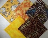 20 4 Inch Quilt Squares Blocks Kit Kitty Kitty Kit