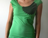 Cutting Edge Ladies t-shirt in Grass Green in X-Large