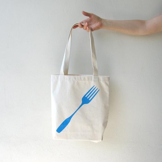 Foodie Fork Tote Bag