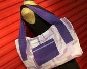 Roomy Tote Bag - Purple, Plum, Lilac, Grape - Oh Sheet