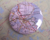 County Louth, Drogheda, Ireland - Wanderlust map pin