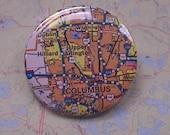 Columbus, Ohio - Road map pin - USA