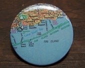 Fire Island map pin