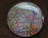 Ashville NC map pin