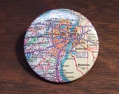 St Louis map pin