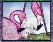 Flamingo Born