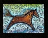 "Freedom Horse 5x7"""