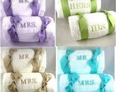 Personalized Mr. & Mrs. Spa Beach Towels