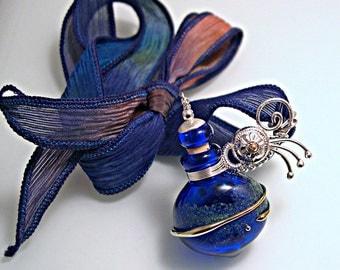 Blue Comet Vessel Necklace