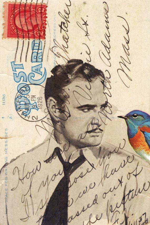 Brando. Collage Print
