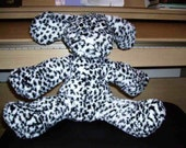 Spotty Dog - black and white spotted fun fur