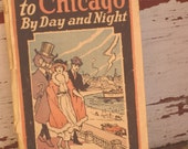1920s Travel Guide Clason's Wise Owl Guide to Chicago (3787-W)