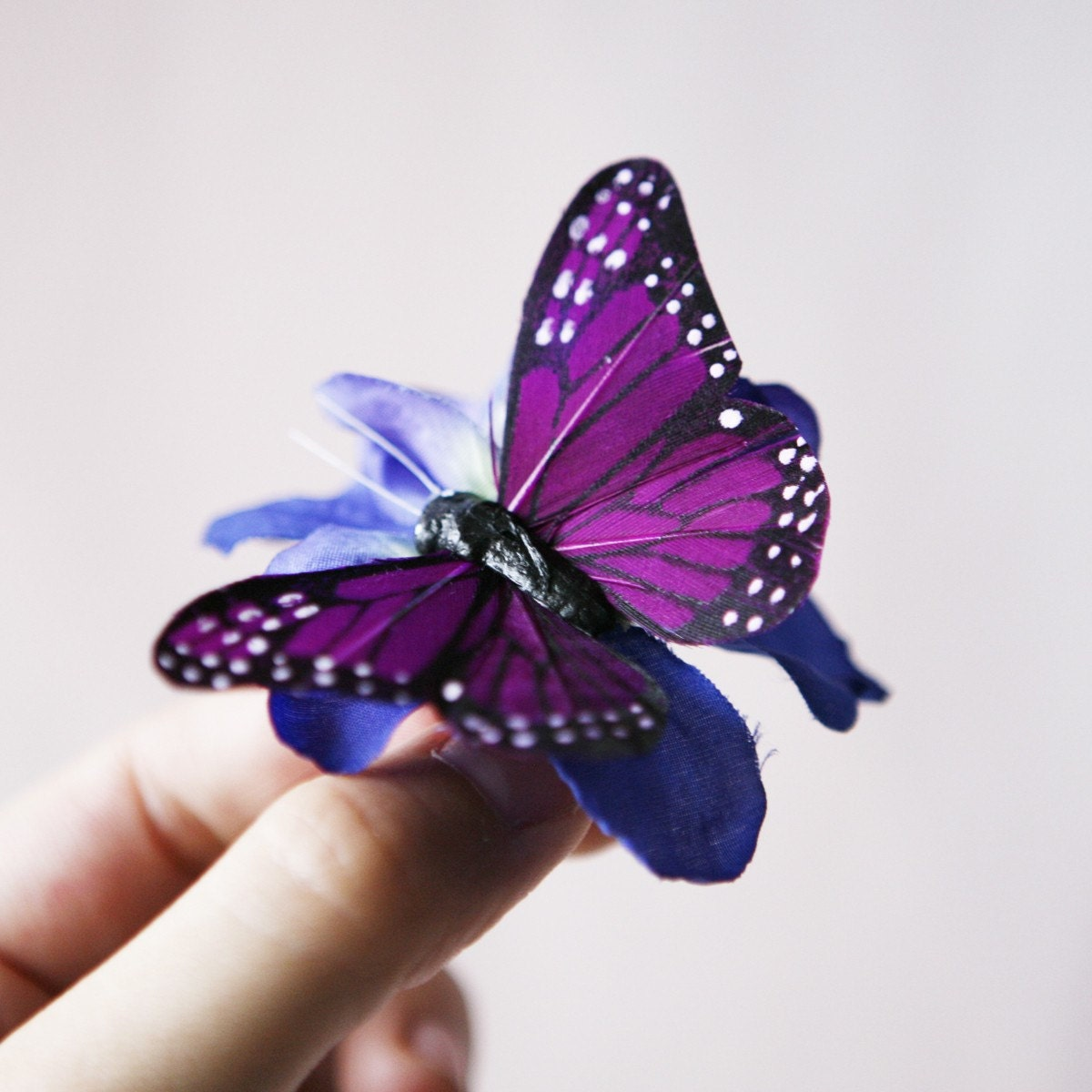 cocoon purple butterfly ring by whichgoose on Etsy - photo#36