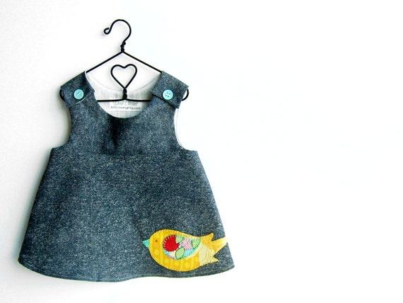 American Girl Doll Clothes -  OOAK Yellow Bird Vivienne Jumper