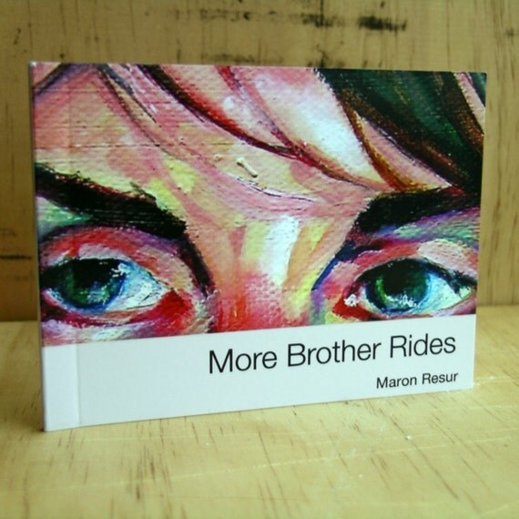 More Brother Rides miniature book - limited edition