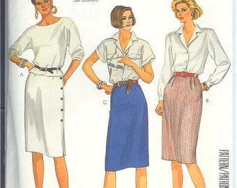 Vintage McCalls Easy Misses SKIRTS Sewing Pattern 2340 Size 16 UNCUT