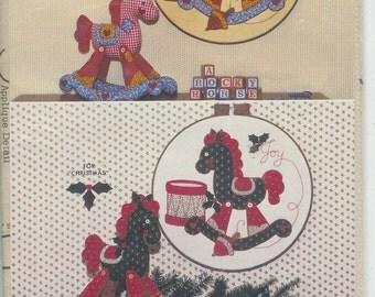 Horse Sculpture  Appliqued Wall QUILT QUILTING  Pattern  GGP056  Uncut