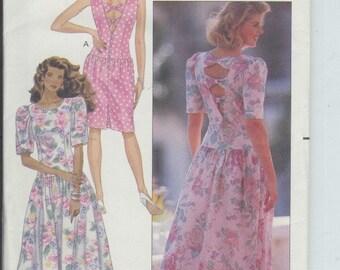 Butterick Misses Dress Pattern 4084 Size 8-10-12