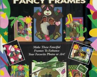 Craft Foam Series Fancy FRAMES 1993 Vintage  Patterns Jenny Lee Designs