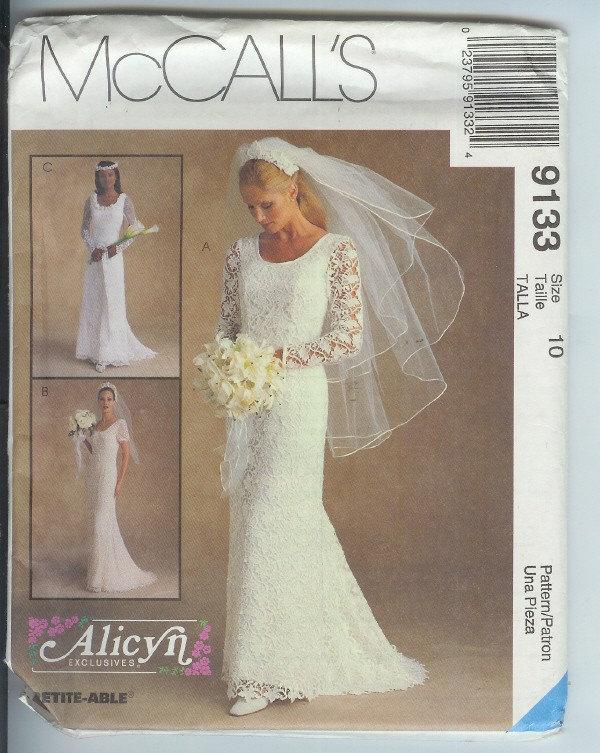 Mccall S Wedding Dress Patterns - Patterns Kid