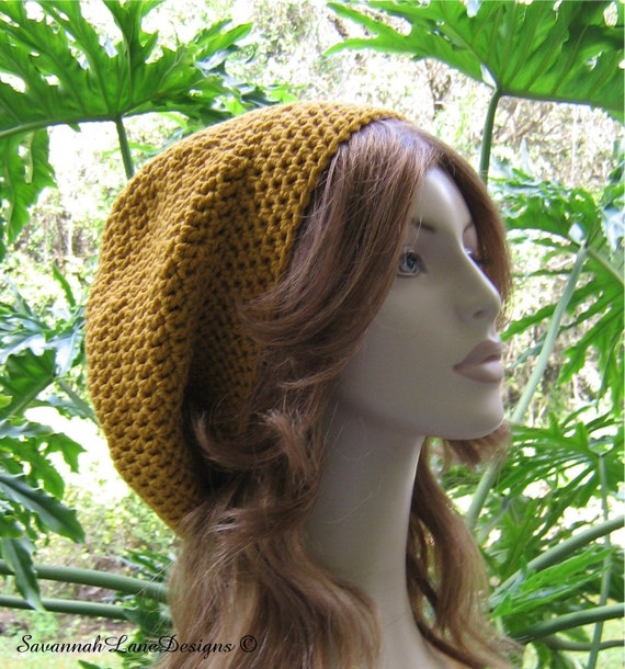 GYPSY GOLD Slouchy Hat  ...  Ready-to-Ship
