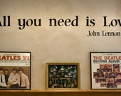 All you need is Love, John Lennon