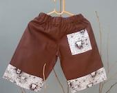SALE Brown Lion Pants - Size  2, 2T SALE (were 23)