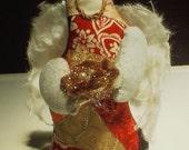 Nest Keeping Angel Cloth Folk Art Doll