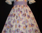 Disney Lavendar PRINCESS Hearts DRESS Daisy Kingdom