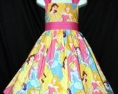 Disney PRINCESS Gowns Dress CUSTOM Daisy Kingdom