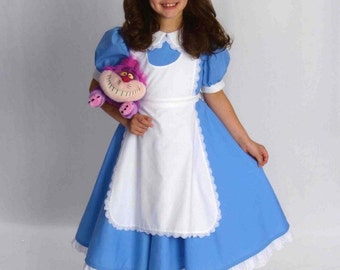 DELUXE Alice in WONDERLAND Costume CUSTOM Size