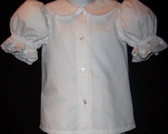 Boutique Dress BLOUSE Pettiblouse CUSTOM SIZE