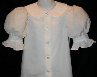 Boutique RUFFLE Dress BLOUSE Pettiblouse CUSTOM Size