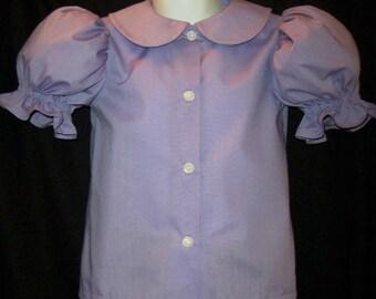 Custom COLOR Dress BLOUSE Pettiblouse CUSTOM Size