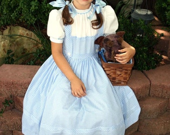 AUTHENTIC Reproduction DOROTHY Costume DRESS Custom Child Size