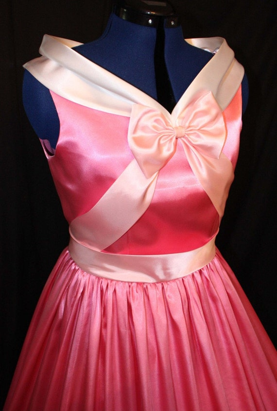 Adult Cinderella Pink Gown Costume Made By the Mice