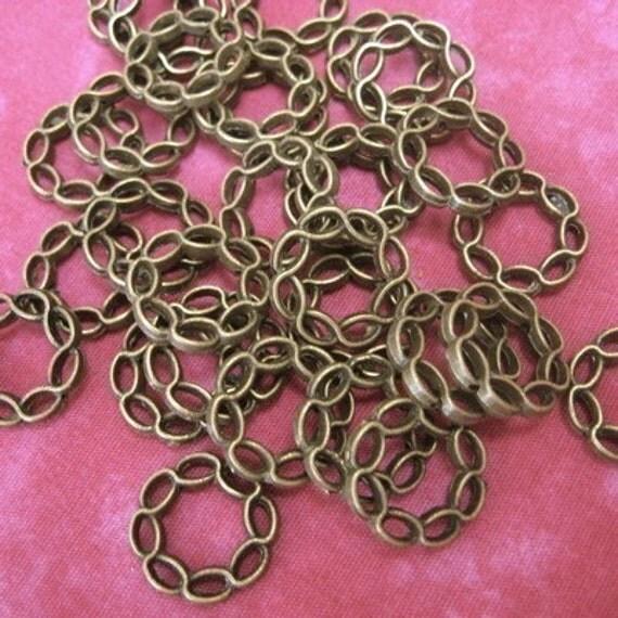 Antique Brass Twist Ring...24