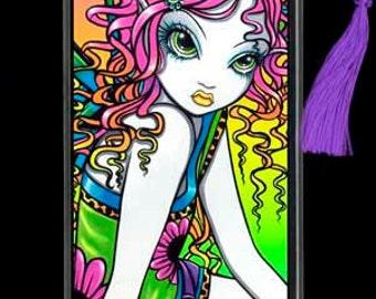 Crystal Adoralicious Candy Rainbow Fairy BOOKMARK