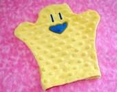 Amazonian Bath Bird Wash Cloth, Yellow