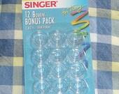 12 BOBBINS bonus pack Singer class 15