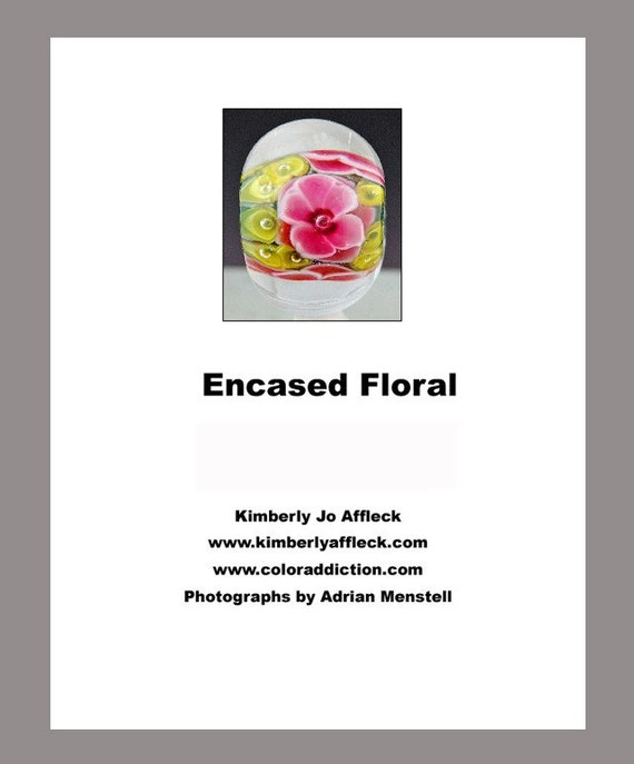Kimberly Affleck Encased Floral Step by Step Instructional Tutorial