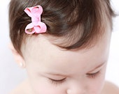 10 Small Newborn Infant Snap Clip Boutique Hair Bow  Set of 10 You pick colors