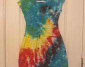 Tie Dyed Dress RESERVED for Angie