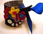 Button and Felt Cuff