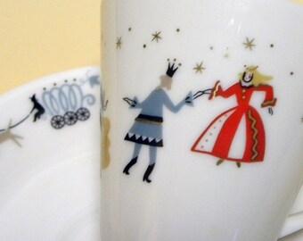 Fairytale Cup and Saucer Set - Cinderella